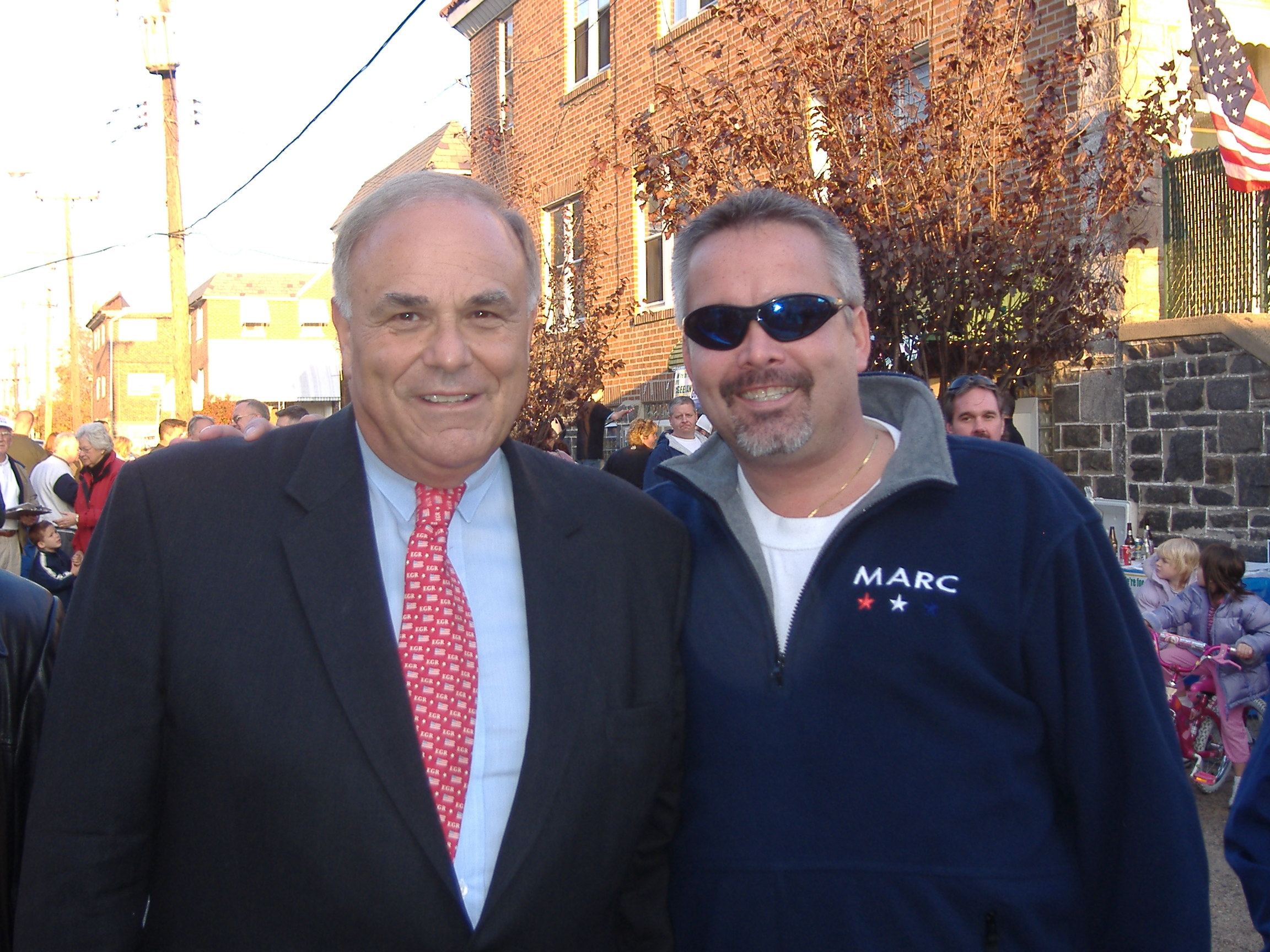 Gov. Ed Rendell and MARC President Emeritus Tom Conway